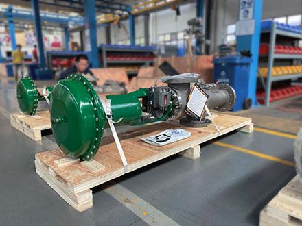 阀门机械设备木箱包装的打包装方法