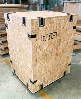 循环卡环木箱包装加强版 为全球循环经济助力