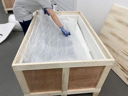 汽车座椅沙发出口木箱包装案例